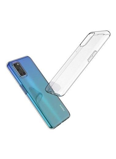 MobilCadde Oppo A72 Dafoni Aircraft Ultra İnce Şeffaf Silikon Telefon Kılıfı Renksiz